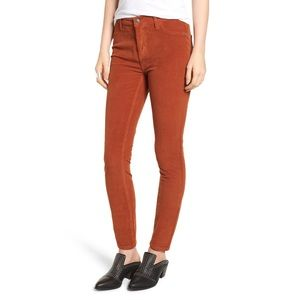 NWT Free People Corduroy Skinny Pants Size 26